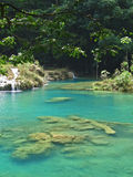 Lagoa de turquesa Foto de Stock Royalty Free