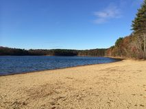 Lagoa de Walden Fotos de Stock Royalty Free
