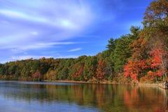 Lagoa de Walden Imagens de Stock
