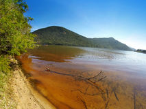 Lagoa a Dinamarca Conceição em polis do ³ de Florianà - Santa Catarina - Brasil Fotos de Stock Royalty Free