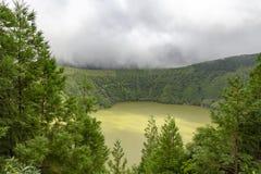 Lagoa do Canario stock image