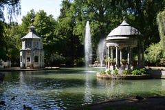 Lagoa do Chinescos - a Espanha de Aranjuez foto de stock royalty free