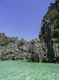 Lagoa do EL Nido foto de stock