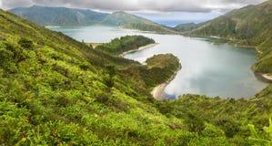 Lagoa do Fogo, Azores Islands Royalty Free Stock Photos
