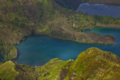 Lagoa do fogo Royalty Free Stock Photos