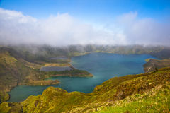 Lagoa do fogo Royalty Free Stock Images