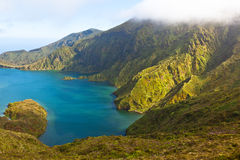 Lagoa do fogo Stock Photography