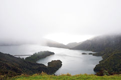 Lagoa do Fogo Royalty-vrije Stock Fotografie