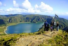 Lagoa do Fogo, San Miguel Stock Images