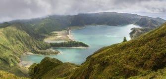Lagoa do Fogo in Sao Miguel, Azores Islands. Lagoa do Fogo, a volcanic lake in Sao Miguel, Azores Islands stock images