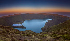 Lagoa do Fogo Royalty Free Stock Photography