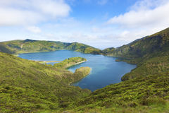 Lagoa do Fogo Royalty Free Stock Photo