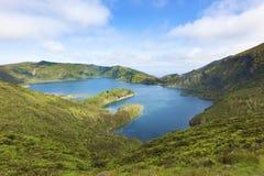 Lagoa do Fogo Royalty Free Stock Photo