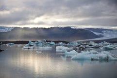 Lagoa do gelo Fotos de Stock Royalty Free
