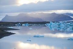 Lagoa do gelo Imagens de Stock