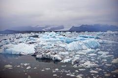 Lagoa do gelo Imagens de Stock Royalty Free