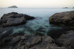 Lagoa do mar Foto de Stock