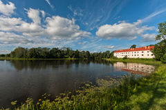 Lagoa do moinho foto de stock royalty free