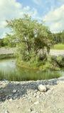 Lagoa do zen fotografia de stock