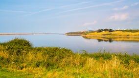 A lagoa Dorset da frota fotografia de stock royalty free