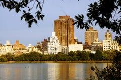Lagoa em New York Foto de Stock