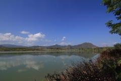 Lagoa em Tailândia Fotos de Stock Royalty Free