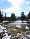 Lagoa Geothermal fotografia de stock