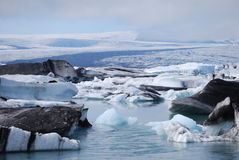 Lagoa Glacial Imagens de Stock