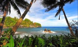 Lagoa havaiana Imagens de Stock