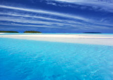 Lagoa II de turquesa Imagem de Stock