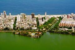 Lagoa. Ipanema. Leblon. Rio de Janeiro Royalty Free Stock Photo
