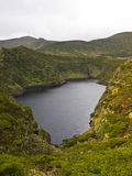 Lagoa Negra, Flores island Royalty Free Stock Photography