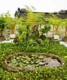 Lagoa no conjunto Hall Garden de Hainan Fotografia de Stock