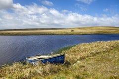 Lagoa norte Malvinas do leste island-3 Imagens de Stock