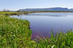 Lagoa ocidental do ribeiro Fotografia de Stock