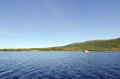 Lagoa ocidental do ribeiro Foto de Stock Royalty Free