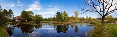 Lagoa panorâmico Fotografia de Stock Royalty Free