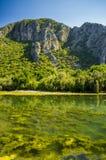 Lagoa perto de Olympus, peru Imagem de Stock Royalty Free