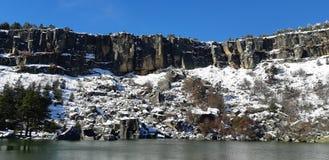 Lagoa preta em soria imagens de stock