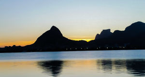 Lagoa Rodrigo de Freitas Stockbilder