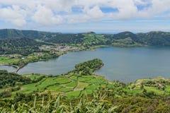 Lagoa Sete Cidades on Azores Stock Photos