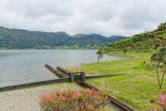 Lagoa Sete Cidades on Azores Stock Image