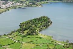 Lagoa Sete Cidades on Azores Royalty Free Stock Image
