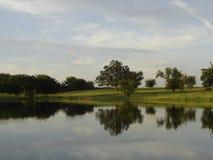 Lagoa tranquilo Foto de Stock
