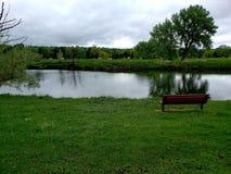 Lagoa urbana Fotos de Stock