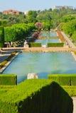 Lagoas alinhadas Fotografia de Stock Royalty Free