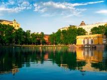 Lagoas do patriarca Imagem de Stock