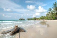 Lagoi Bay, Bintan, Indonesia. Beach and white sand at Lagoi Bay, Bintan, Indonesia Royalty Free Stock Images