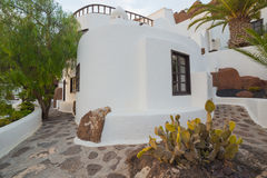 LagOmar House Museum in Lanzarote, in Spain Royalty Free Stock Image