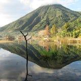 Lagomeer Atitlan Guatemala Midden-Amerika Royalty-vrije Stock Fotografie